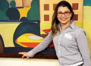 """Francieli Oliveira  Blogueira de """"O Jardim da Fran"""""""