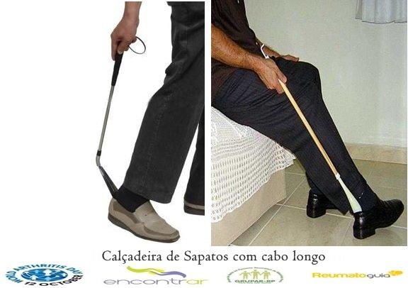 Calçadeira de Sapato com cabos longos